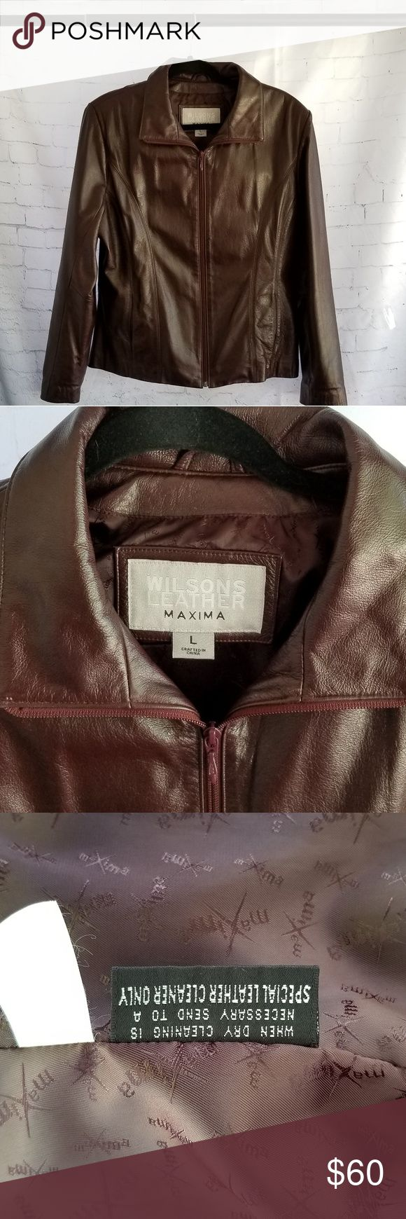 Wilsons Leather Maxima Jacket Cute leather jackets
