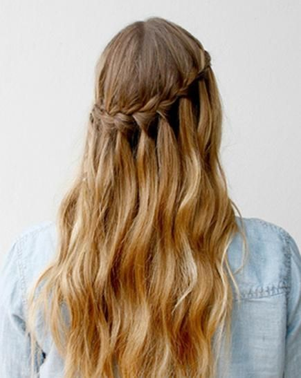 Simple Braided Hairstyles For Prom : Best 25 curly prom hairstyles ideas on pinterest