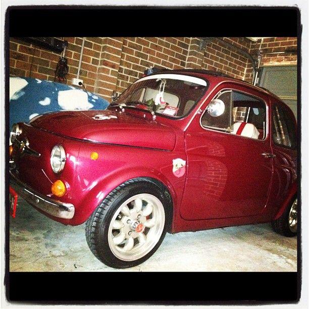 My weekend car! Fiat 500