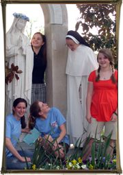 Free, online virtues and Catholic teaching resource by the Dominican Sisters of St. Cecilia!
