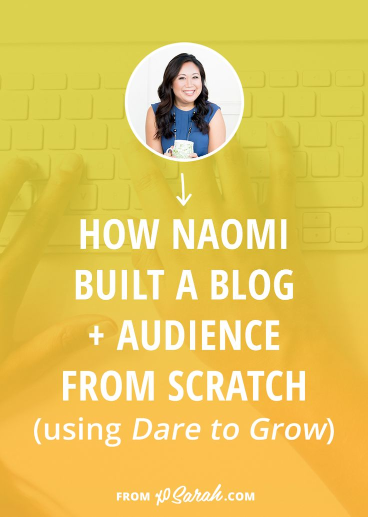 Wondering how to kick start your blog? Naomi shares how she went from personal blogging to building a blog and email list for her health coaching business. Click through for all the details!