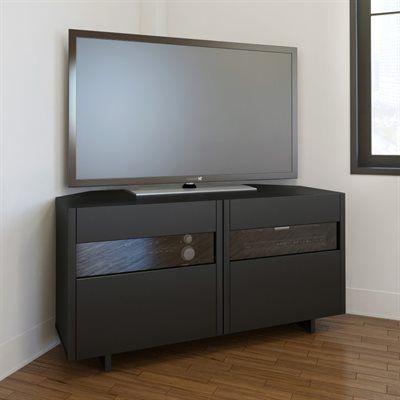 1000 ideas about tv in corner on pinterest ikea tv stand corner tv mount and corner shelves. Black Bedroom Furniture Sets. Home Design Ideas