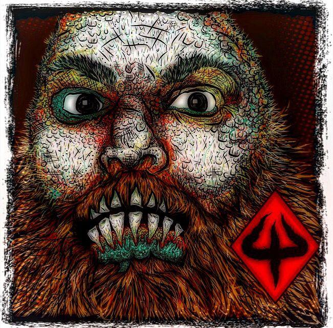 Adobe draw digital art sketchbook self portrait as zombie