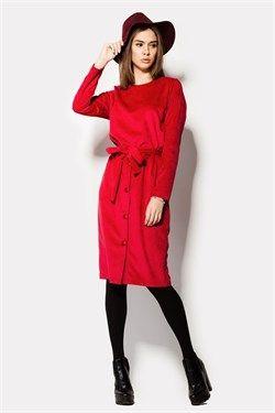 """Платье """"KAMA"""" темно-красное"""