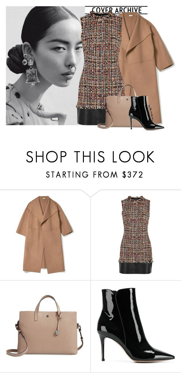 """an"" by bellamonica ❤ liked on Polyvore featuring Alexander McQueen, Lodis and Gianvito Rossi"