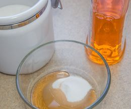 Homemade Fly Traps | eHow sugar and dish soap, much better smell for indoors vs the vinegar.