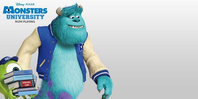 Monsters University - Showtimes - Hero