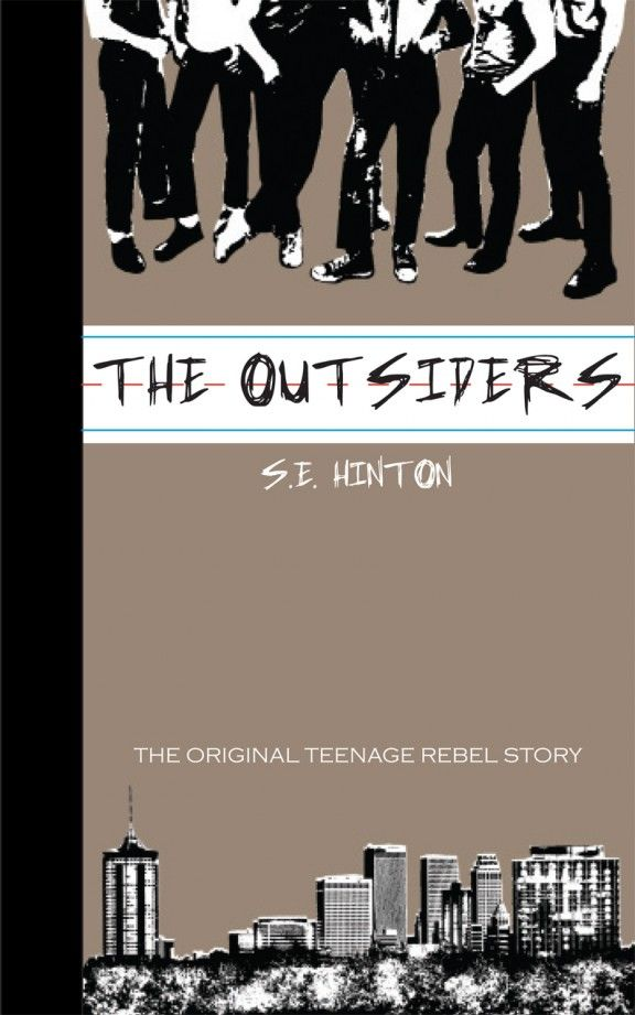 The Outsiders - S.E. Hinton - Re-Covered Books