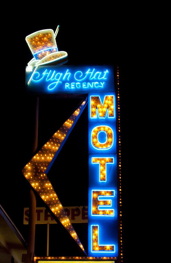 High Hat Motel In Las Vegas