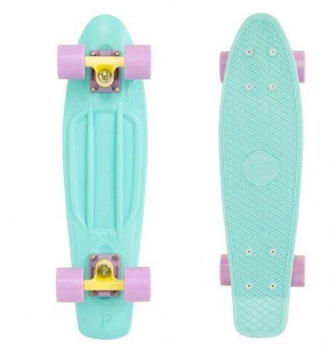 Penny Skateboard Complet 22 Pastels Bleu menthe