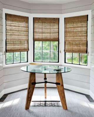 57 best windows images on pinterest sheet curtains for Smith and noble natural woven shades