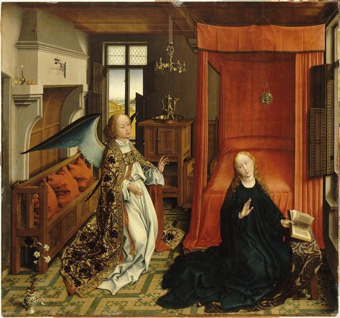 L'Annonciation |  Van der Weyden Rogier (1399/1400-1464)