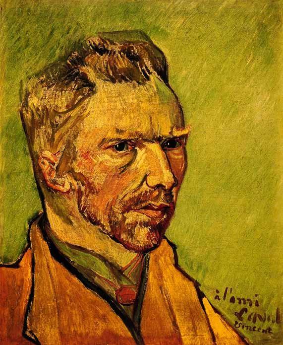 Autoportrait Vincent VAN GOGH -