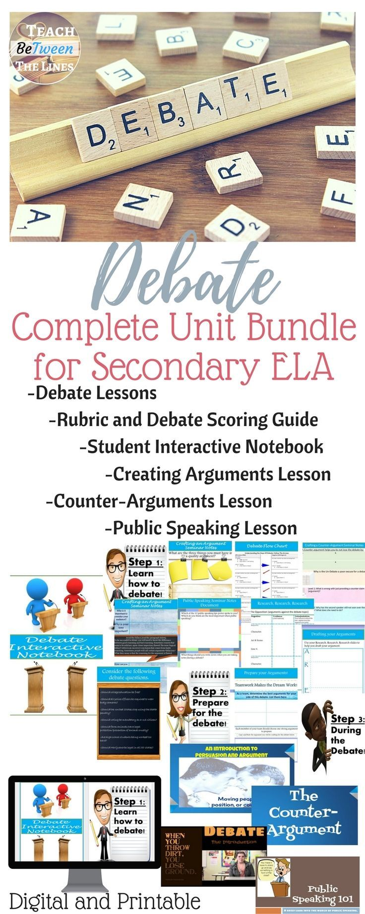 Best  English Debate Ideas On Pinterest  Debate Tips Essay  Debate Complete Unit Bundle Digital And Printable