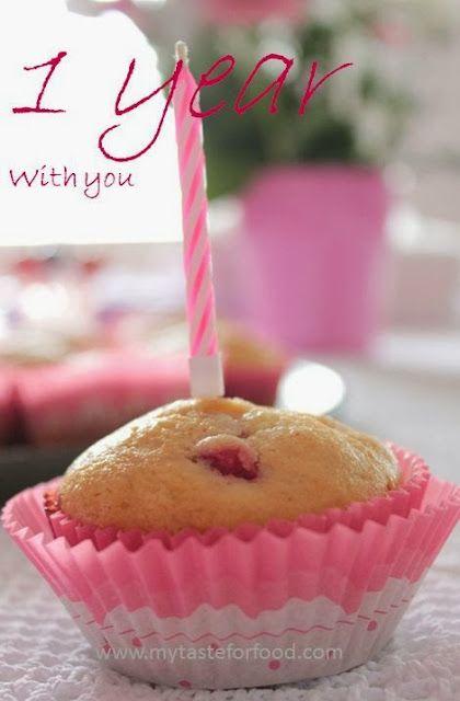 Muffin alla fragola