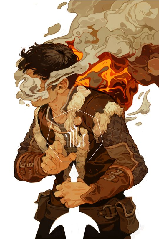 """Dragon Age: Magekiller"" by Sachin Teng* # illustration digital painting smoke effect fx character design male warrior sword white"