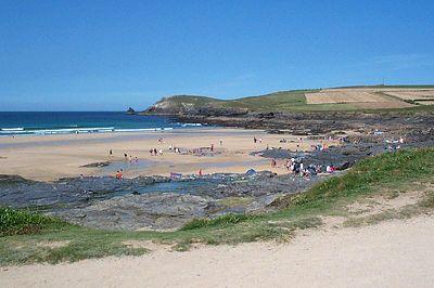 Beach at Booby's Bay, Cornwall