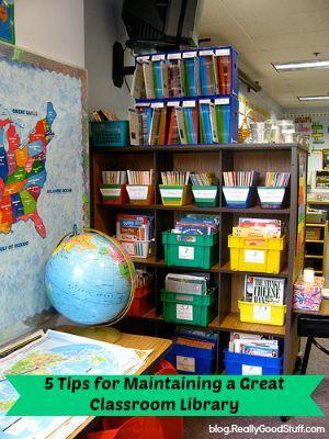 5 Tips for Maintaining a Great Classroom Library   (Photo by LizMarie_AK/flickr)