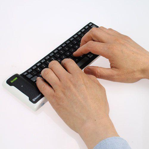 iKross Mini Clavier Bluetooth sans fil rechargeable en silicone flexible pour smartphones et tablettes avec Bluetooth iKross http://www.amazon.fr/dp/B00VCGW89C/ref=cm_sw_r_pi_dp_TSbGwb1FM3EY8