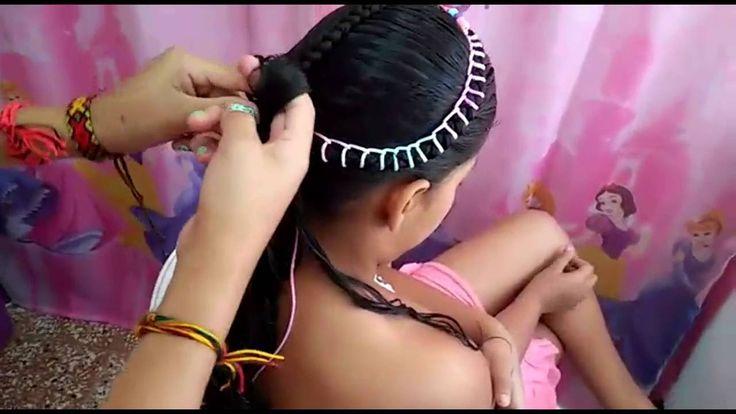 Peinado para Niñas Paso a Paso La Coronita