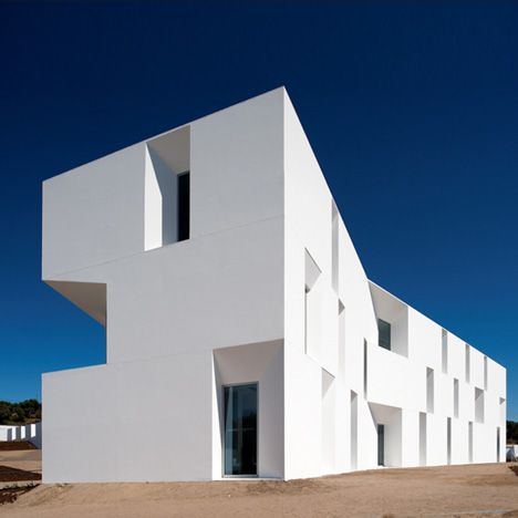 Assisted Living Facility by Aires Mateus, Alcácer do Sal, Portugal #Architecture