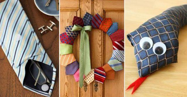Gör pappa glad! Återbruka slipsen