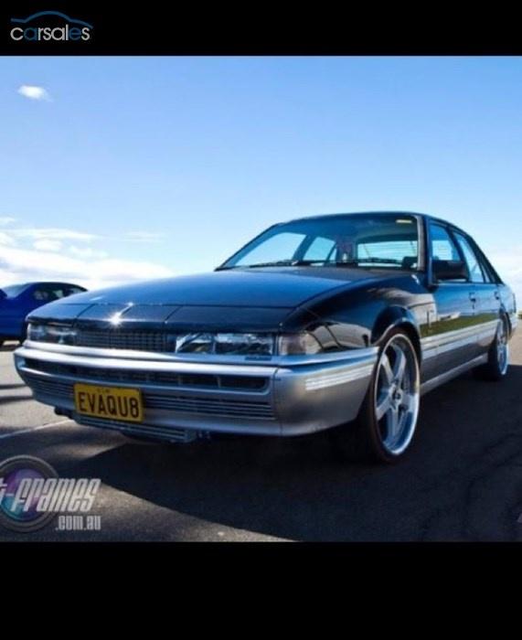 1986 Holden Calais VL Turbo