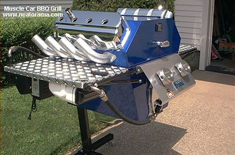 The Muscle Car Grill
