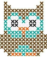 strijkparels - uil