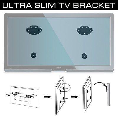 "Ultra Slim 26-55"" LED TV Flat Screen Wall Mount Bracket Universal VESA 400x400 - http://www.computerlaptoprepairsyork.co.uk/monitorstv-screens/tvs/ultra-slim-26-55-led-tv-flat-screen-wall-mount-bracket-universal-vesa-400x400"