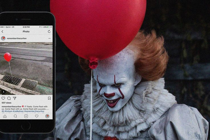 """Social campaign for the 2017 movie """"IT"""".  #advertising #stephenking #itmovie #social"""