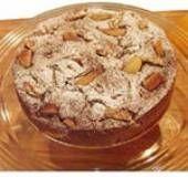 Herfstcake met (evt bitterkoekjes en amaretto) peer en kaneel. Bitterkoekjes en amaretto kunnen vervangen worden of weggelaten