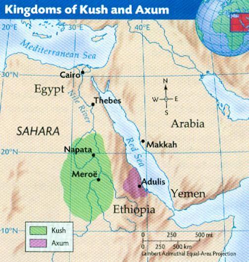 Ancient African Kingdoms | The Kingdoms of KUSH + AXUM | Empires