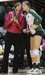 Cathy George, Michigan State University Head Volleyball Coach