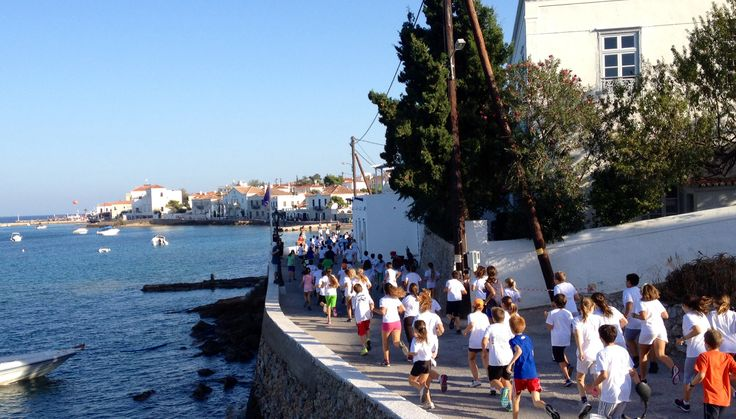 Spetses Mini Marathon 2013 Παιδικός Αγώνας
