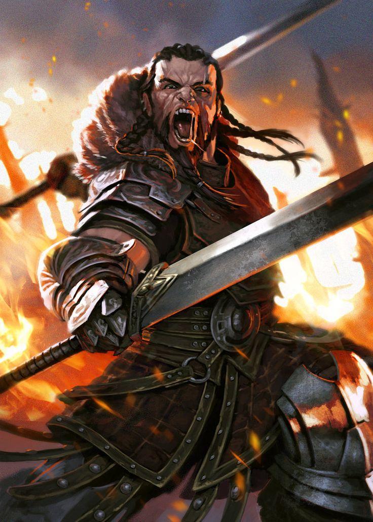 The Swordsman by DiegoGisbertLlorens on deviantART