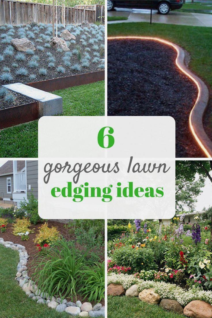 Großartig Pretty Ideas For Lawn And Garden Edging. Landscaping Tips For Beginners.