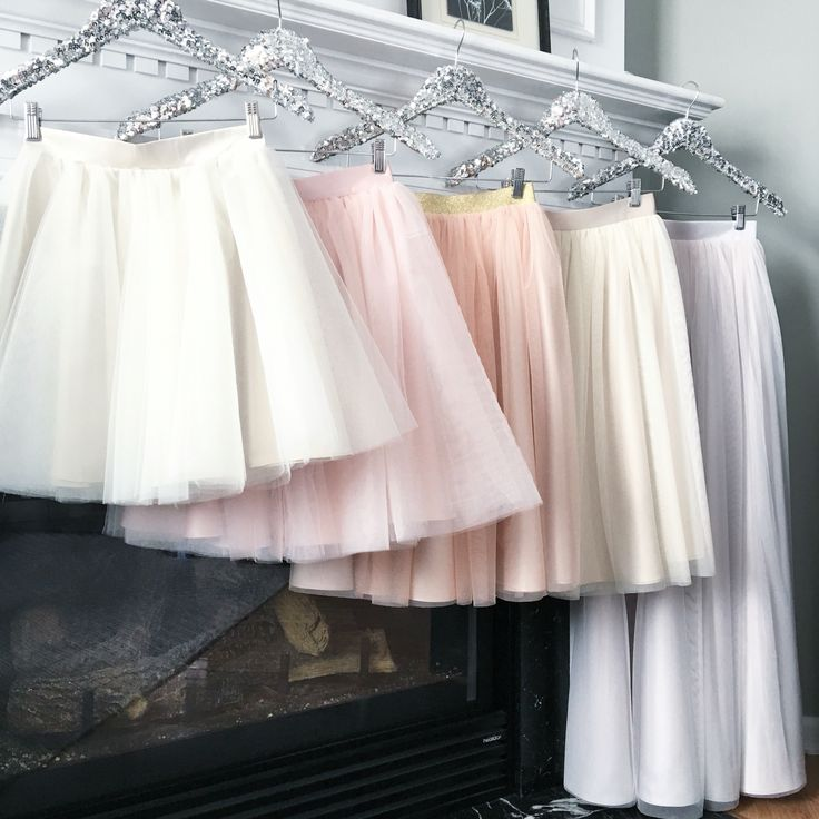 Tulle skirts by Bliss Tulle