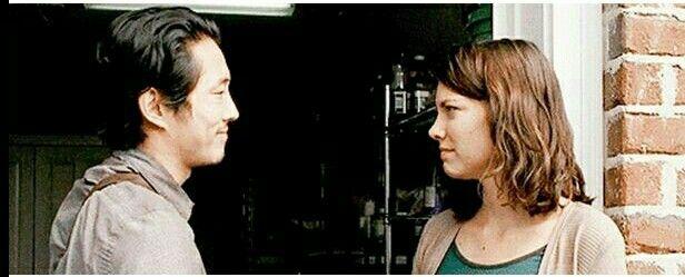 Glenn Rhee and Maggie Rhee on the day of Aidan and Noah's death □ REST IN PEACE: Aidan Monroe and Noah ● Season 5 Episode 14 | The Walking Dead