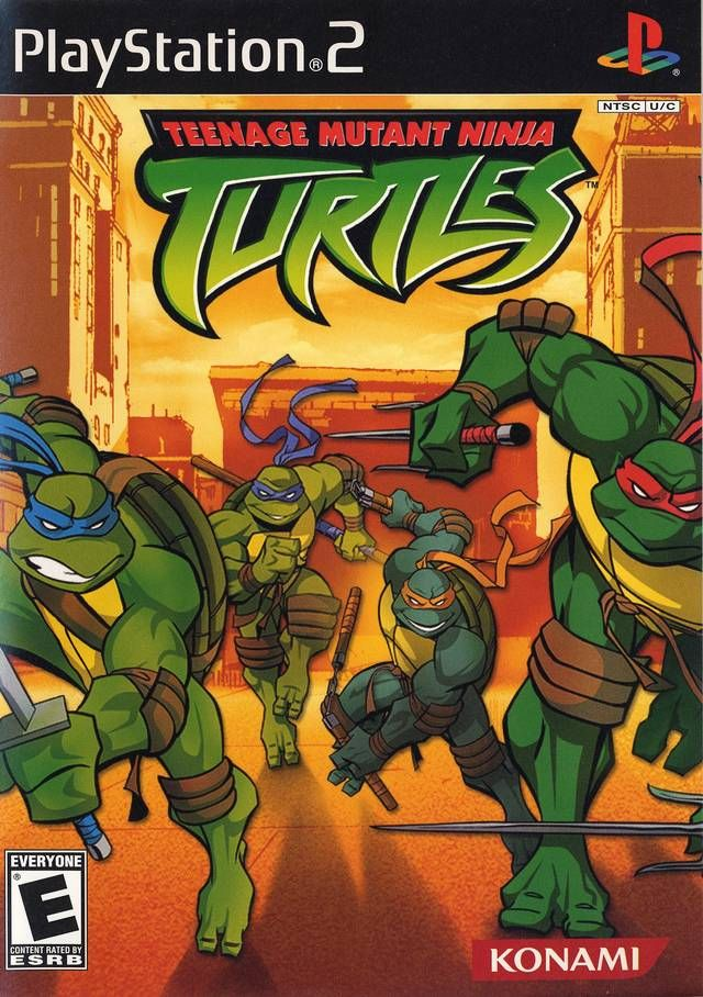 Teenage Mutant Ninja Turtles Sony Playstation 2 Game