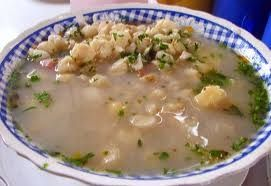 Poliada: de Choclo Considerada la mas exquisita sopa crema que se prepara en la región. Arniada: Sopa de maíz Sopa de Mote: El mote es maíz remojado y preparado artesanalmente