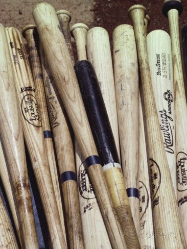 BASEBALL (look 4) : Battes de baseball