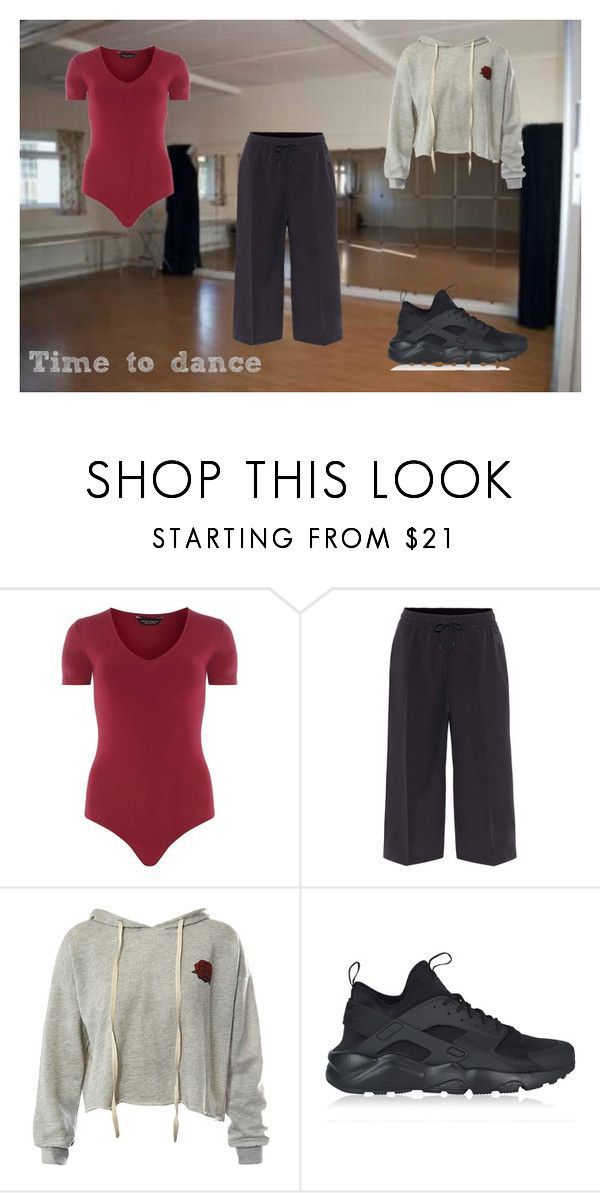 """Time to dance"" by frencyl on Polyvore featuring moda, Dorothy Perkins, NIKE e Sans Souci"