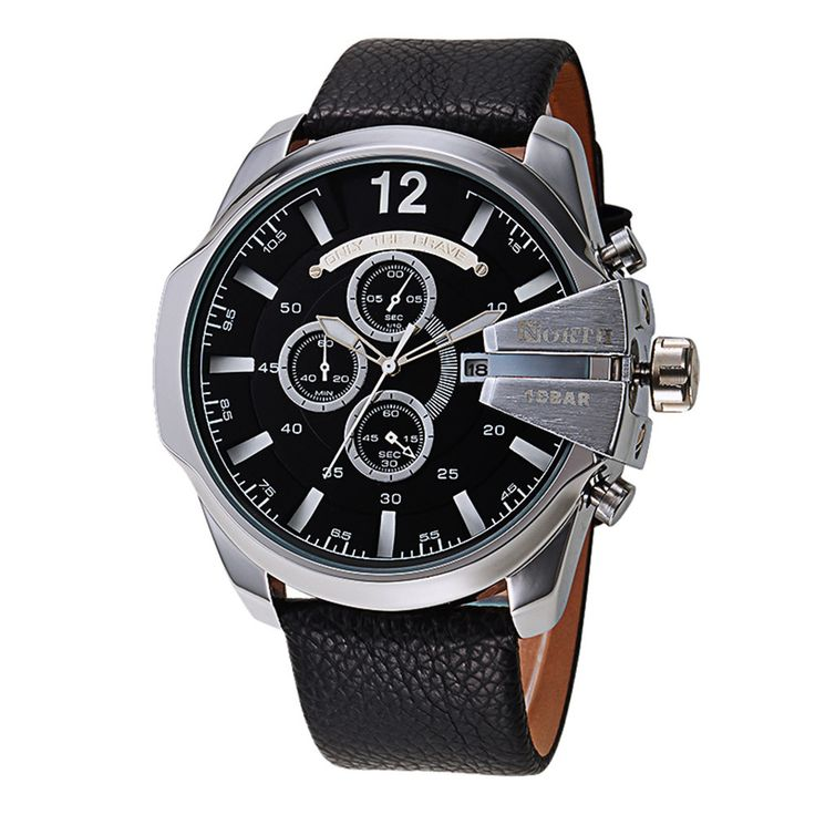$8.95 (Buy here: https://alitems.com/g/1e8d114494ebda23ff8b16525dc3e8/?i=5&ulp=https%3A%2F%2Fwww.aliexpress.com%2Fitem%2FNorth-Luxury-Brand-Watches-Men-casual-bracelet-Sports-PU-Leather-Horloges-Quartz-Pulse-Male-Watch-relogio%2F32777974830.html ) North Luxury Brand Watches Men casual bracelet Sports PU Leather Horloges Quartz Pulse Male Watch relogio masculino de luxo 2016 for just $8.95