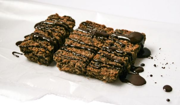 #nowaste #almondpulp chocolate chip bars!