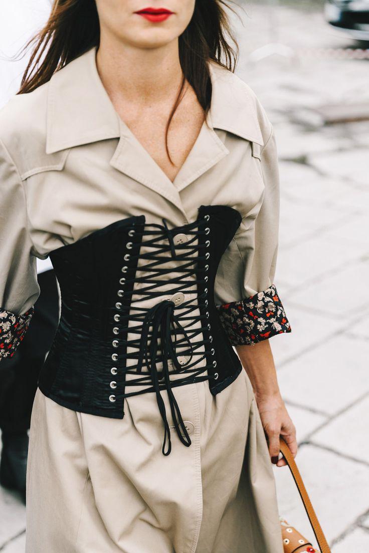 Street Style Milan. Septiembre 2016                                                                                                                                                                                 Más