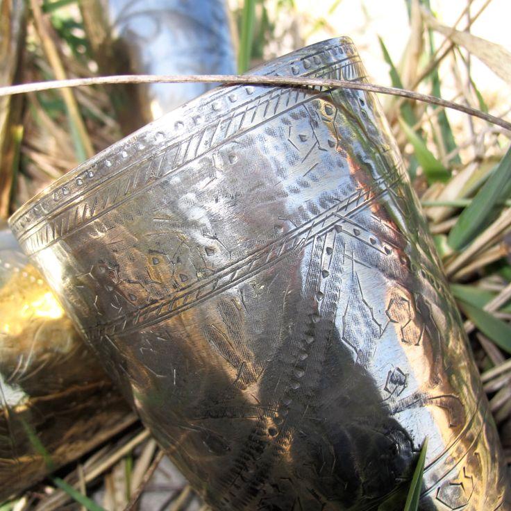 Messing vase..