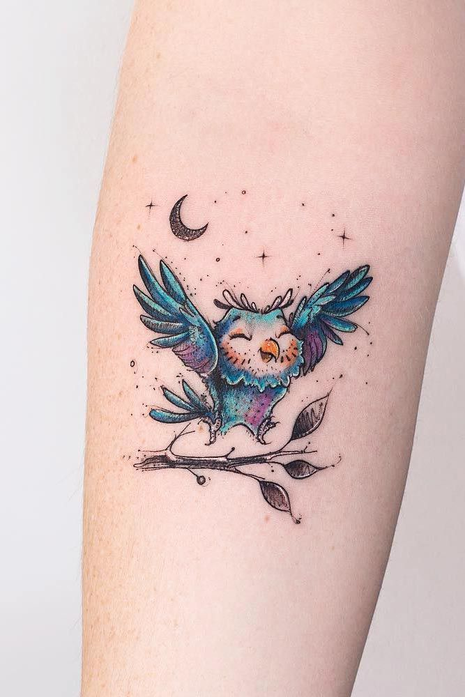 24 Owl Tattoo Designs That Will Make You Drool With Satisfaction