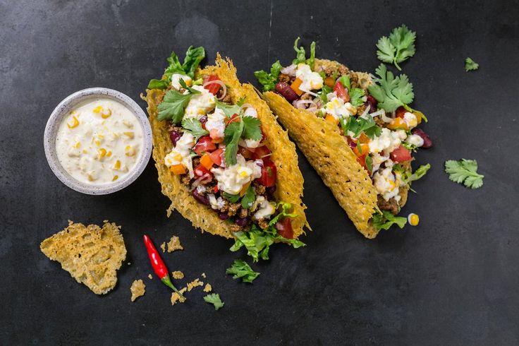 6 cheesey taco med ekstra ost | tine.no/osteriet