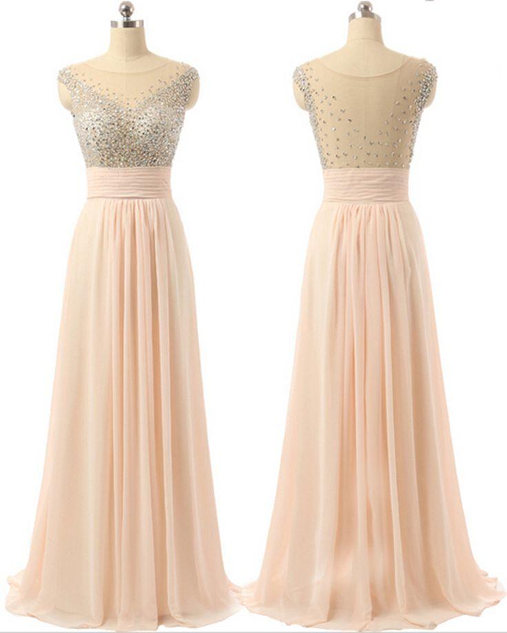 Prom Dress,Long Prom Dresses,Formal Evening Dress,Evening Gown,Chiffon Prom